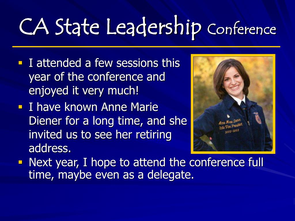 CA State Leadership