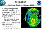 discussion hurricane charley 9 14 aug 2004