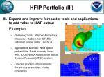 hfip portfolio iii