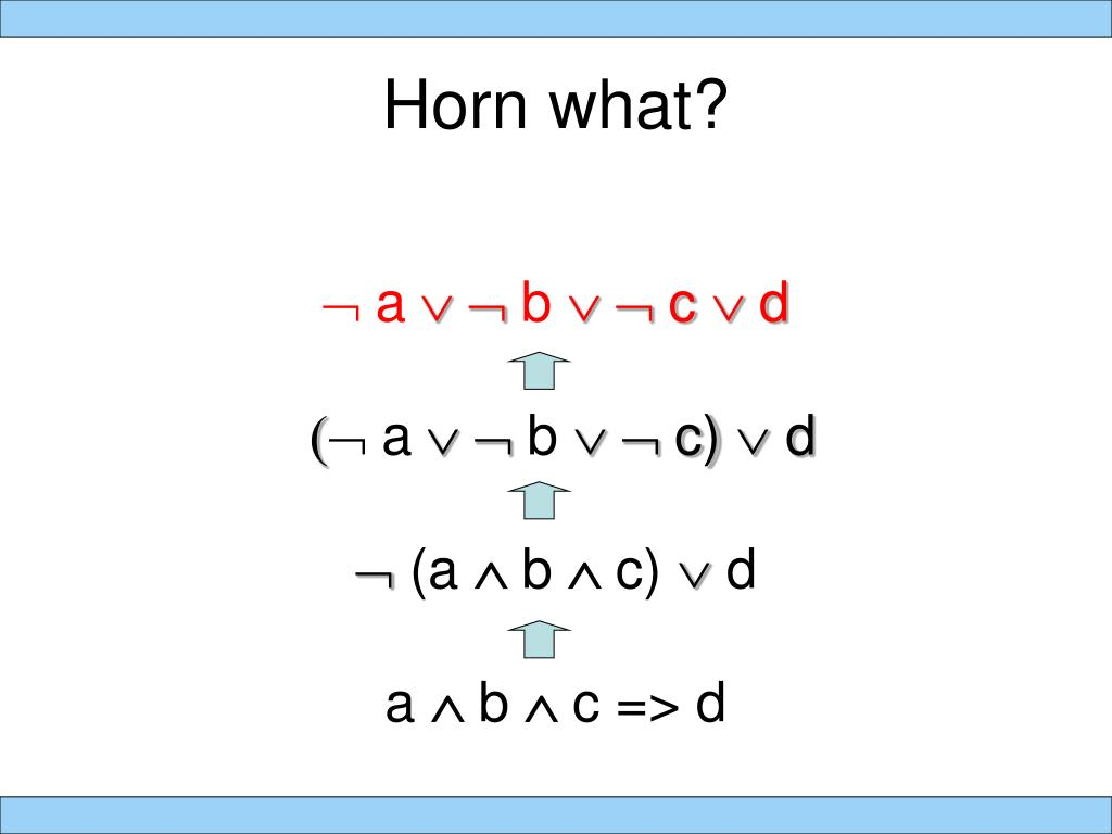 Horn what?
