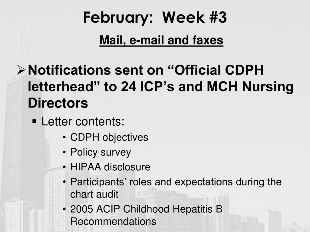 February:  Week #3