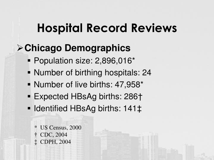 Hospital record reviews l.jpg