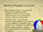terms people to know11