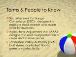 terms people to know3