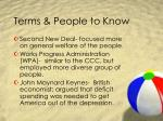 terms people to know6