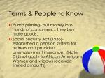 terms people to know7