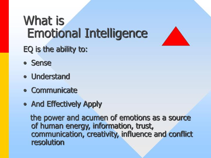 What is emotional intelligence l.jpg