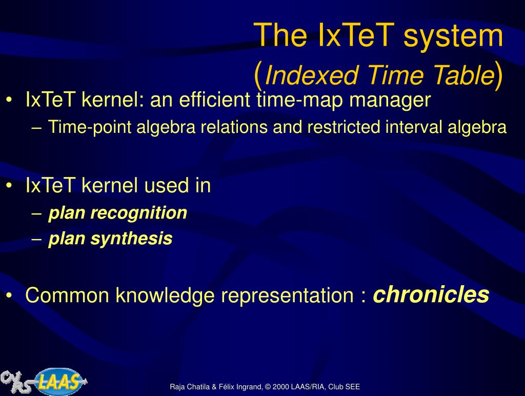 The IxTeT system