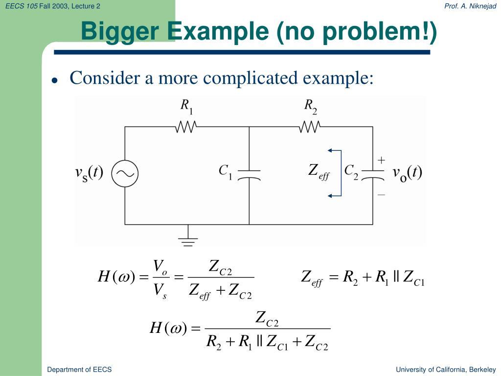 Bigger Example (no problem!)