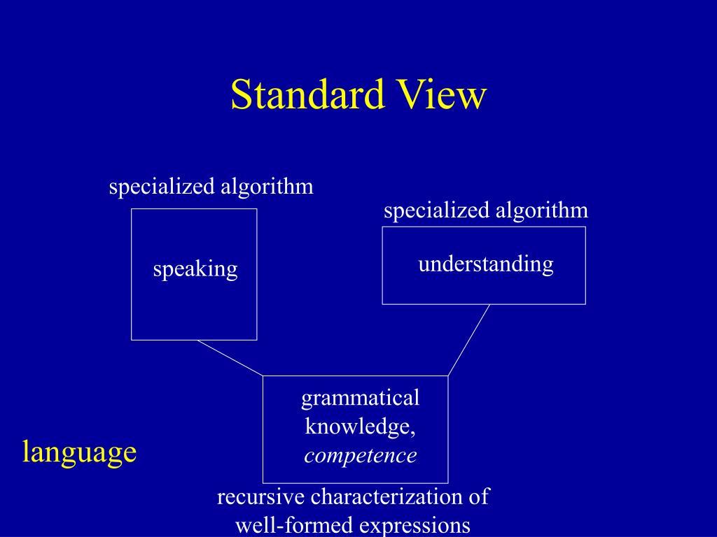Standard View