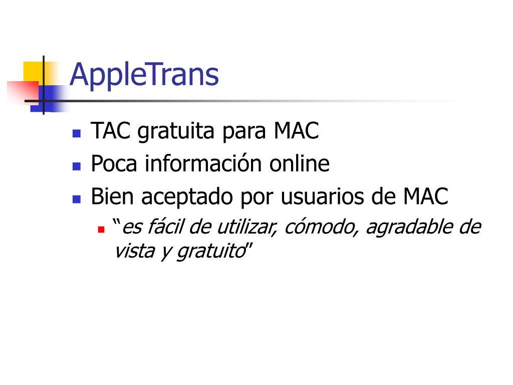 AppleTrans