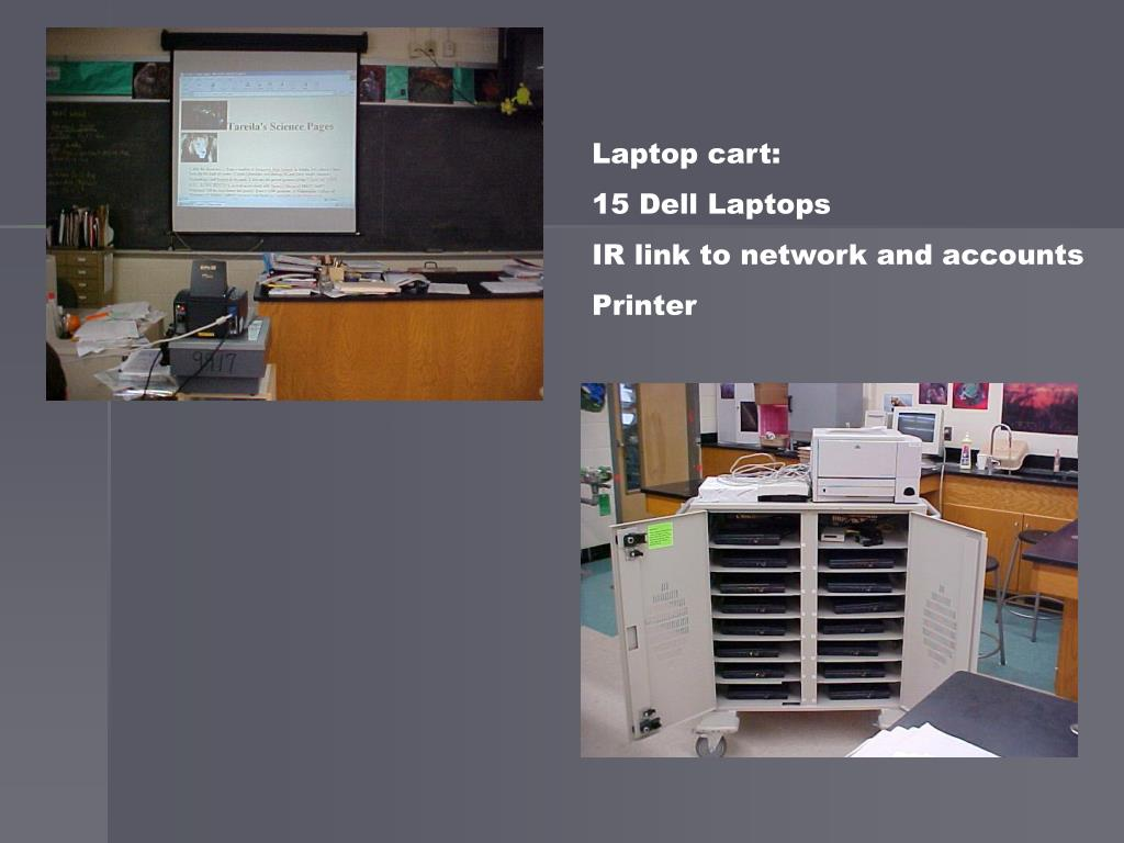 Laptop cart: