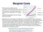 marginal costs16