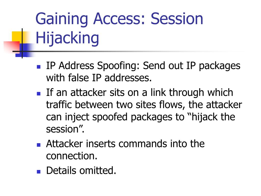 Gaining Access: Session Hijacking