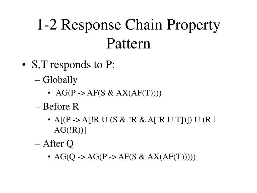 1-2 Response Chain Property Pattern