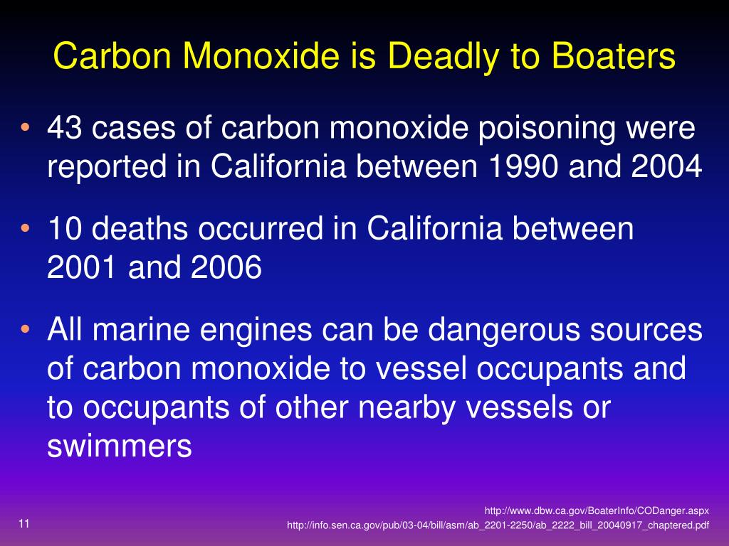 Carbon Monoxide is Deadly to Boaters