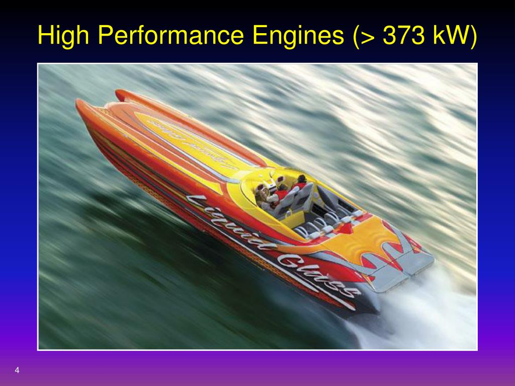 High Performance Engines (> 373 kW)