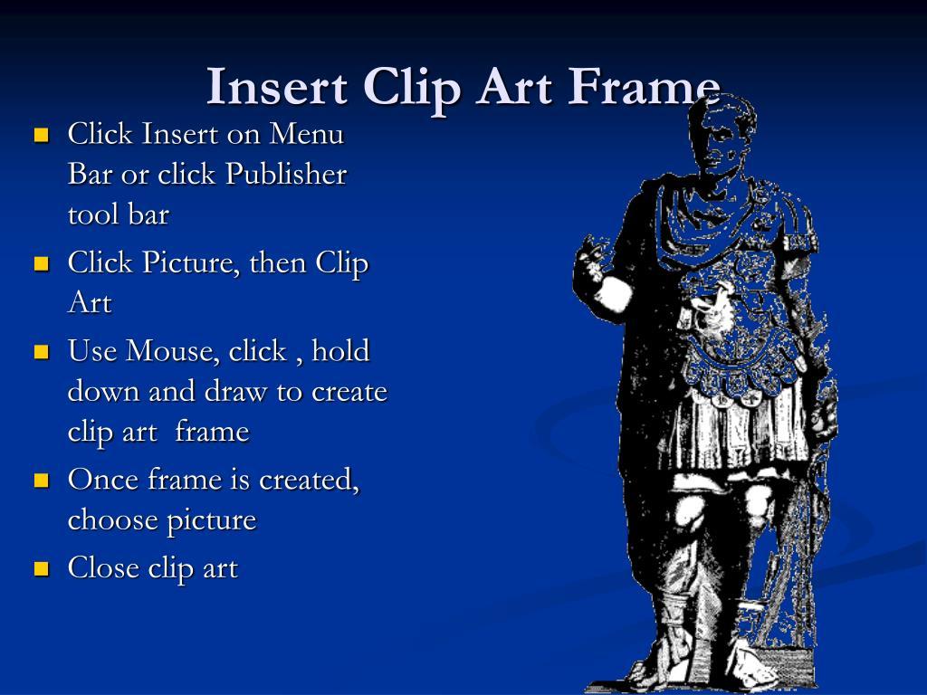 Insert Clip Art Frame