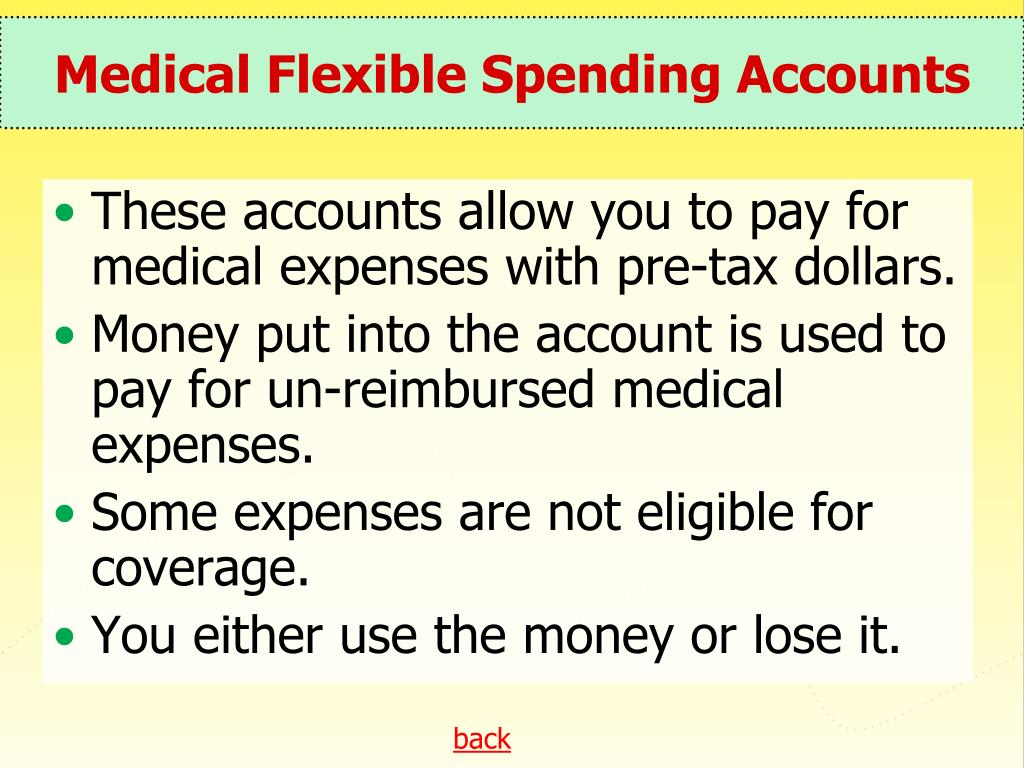 Medical Flexible Spending Accounts