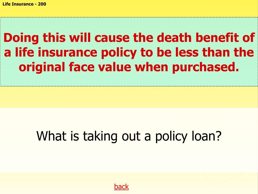 Life Insurance - 200