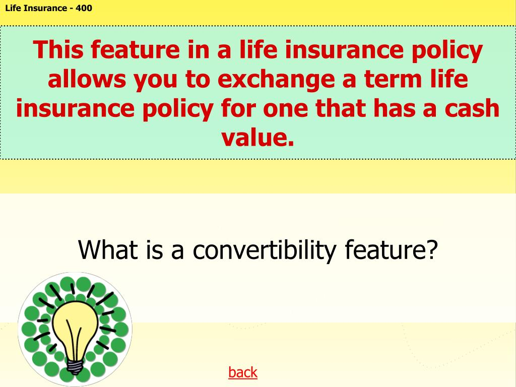 Life Insurance - 400