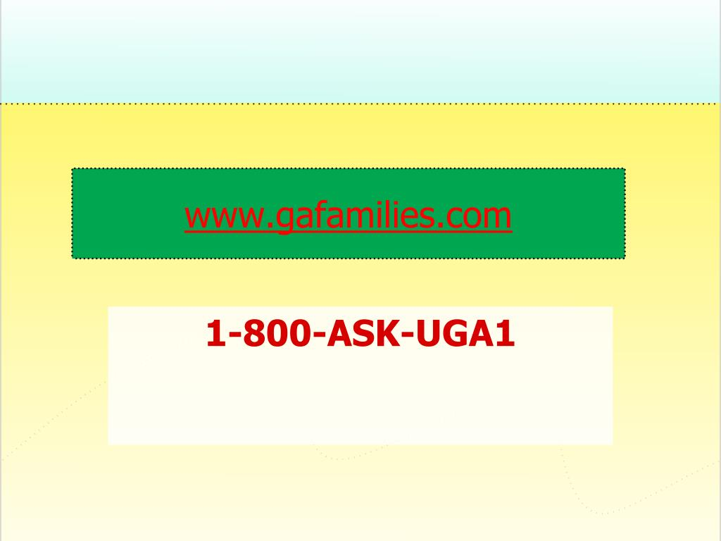 www.gafamilies.com
