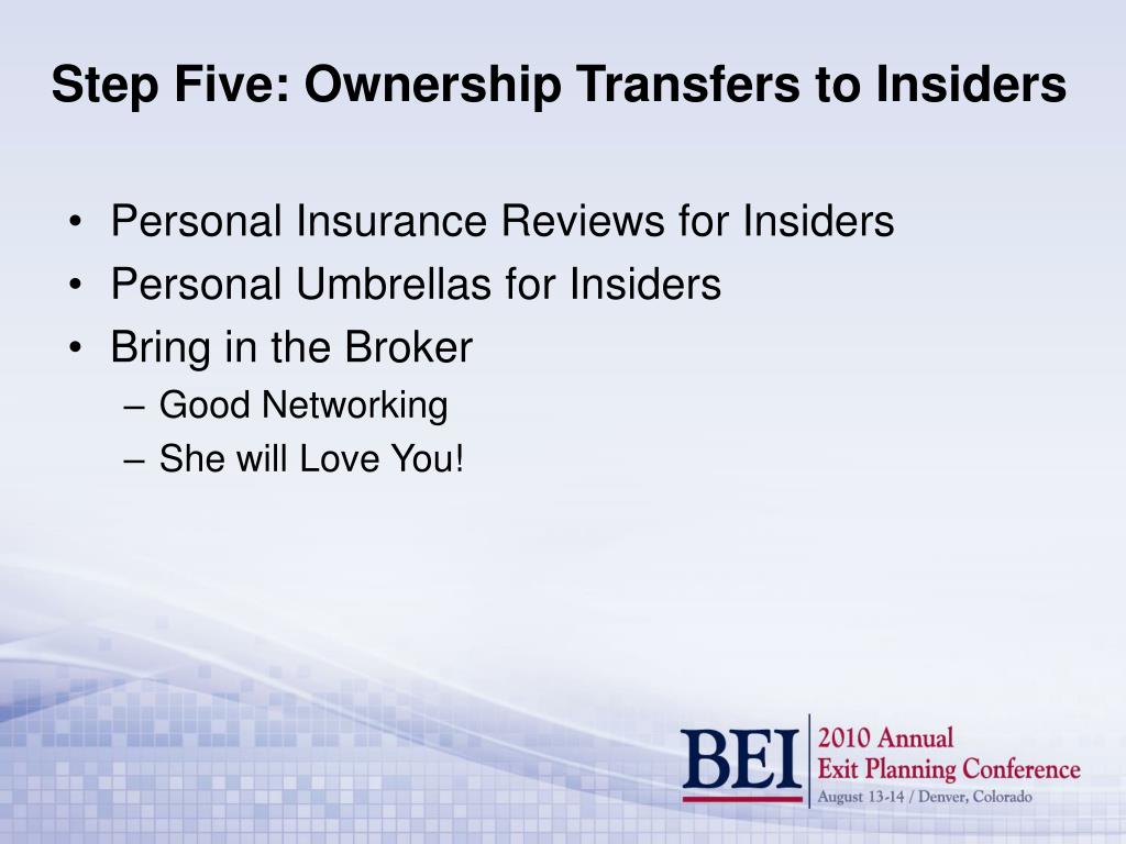 Personal Insurance Reviews for Insiders