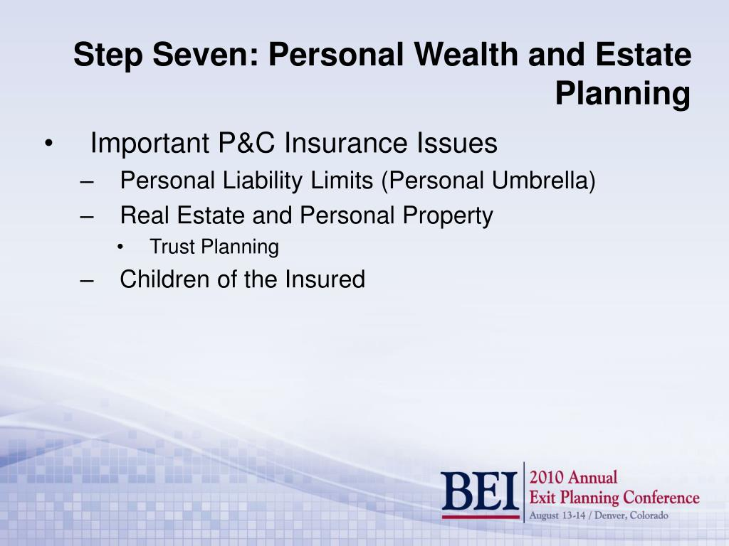 Important P&C Insurance Issues