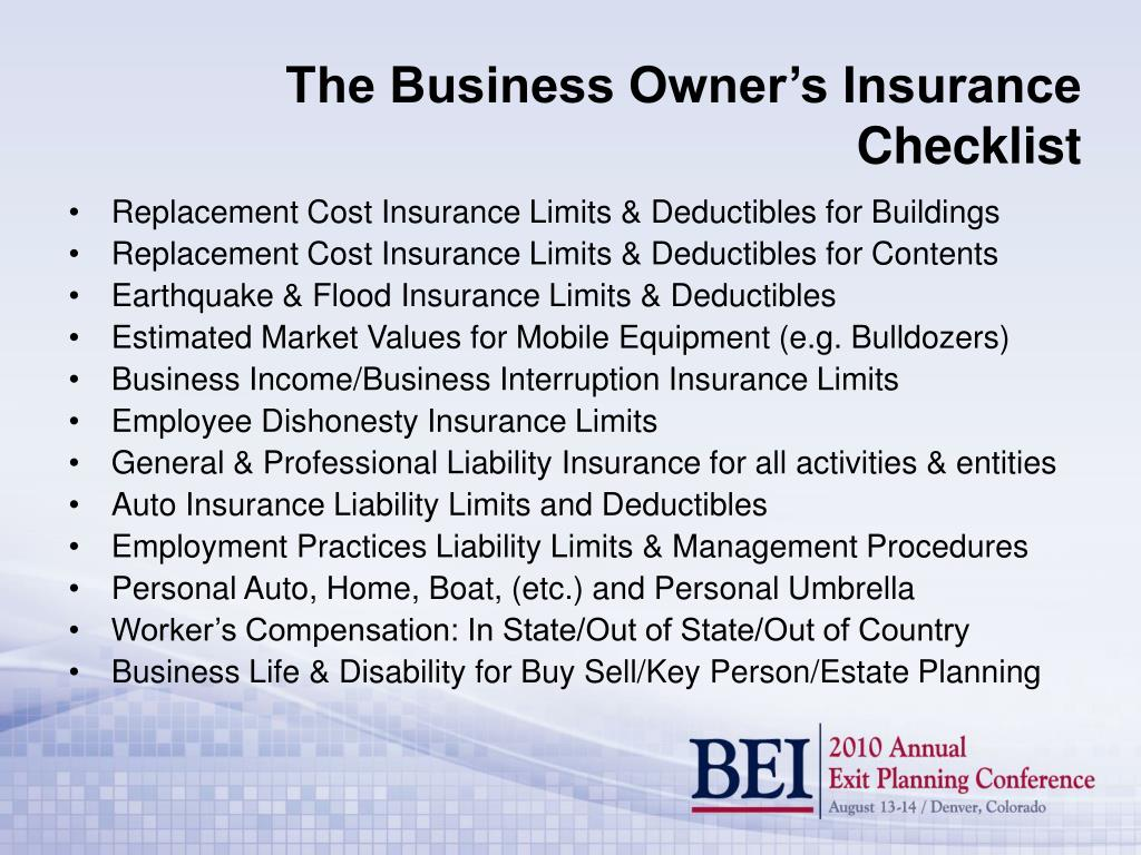 Replacement Cost Insurance Limits & Deductibles for Buildings