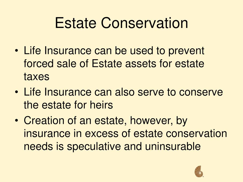 Estate Conservation