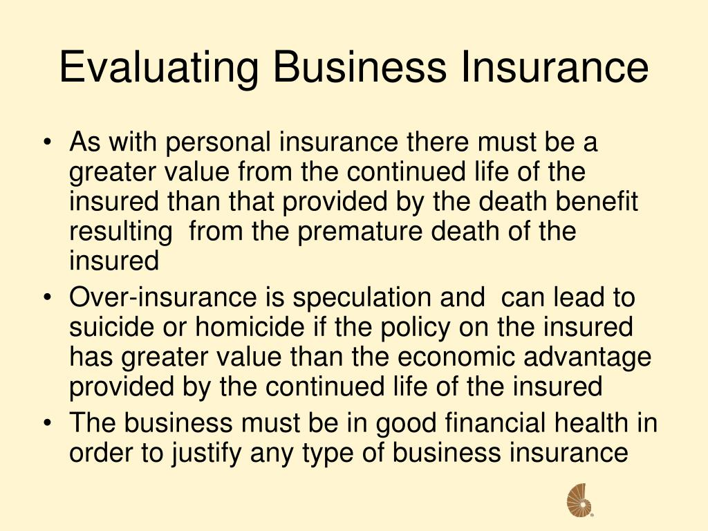 Evaluating Business Insurance