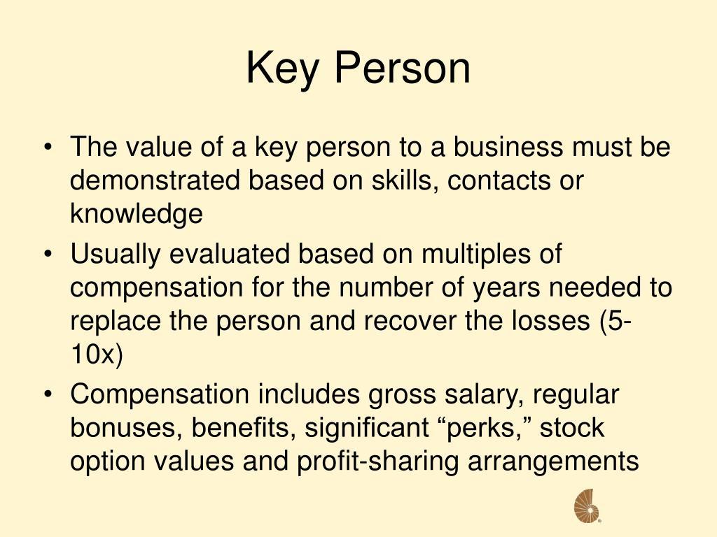 Key Person