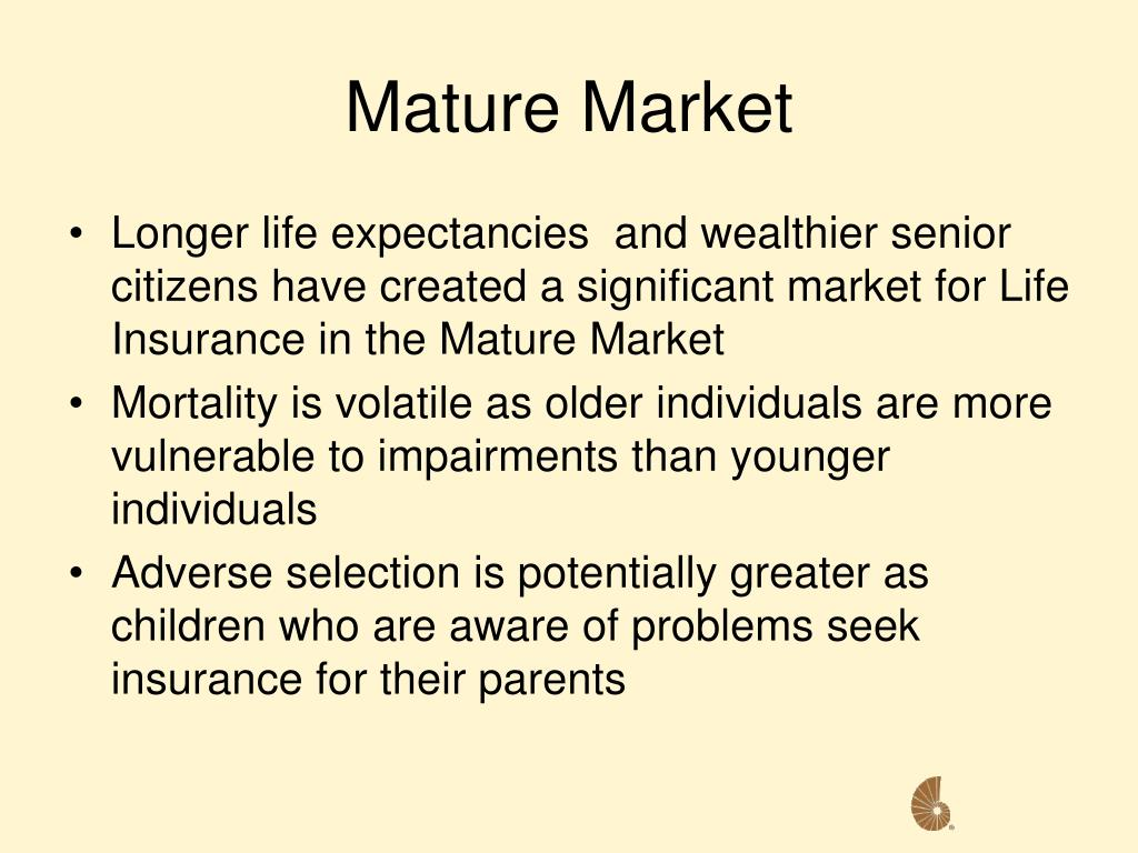 Mature Market