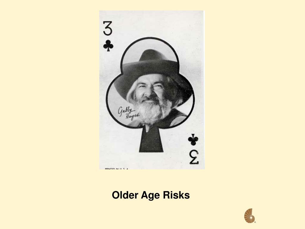 Older Age Risks