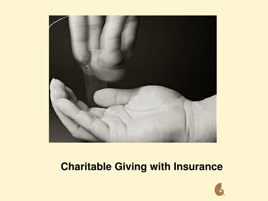 Charitable Giving with Insurance