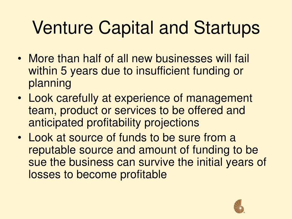 Venture Capital and Startups