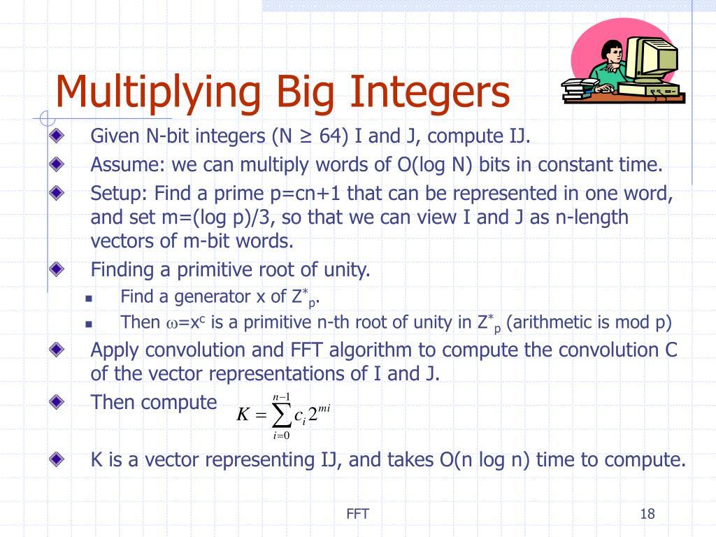 Multiplying Big Integers