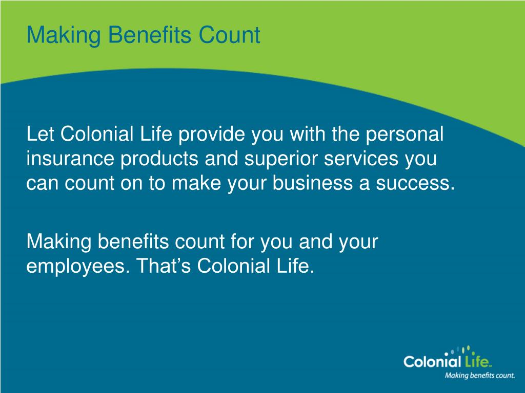 Making Benefits Count