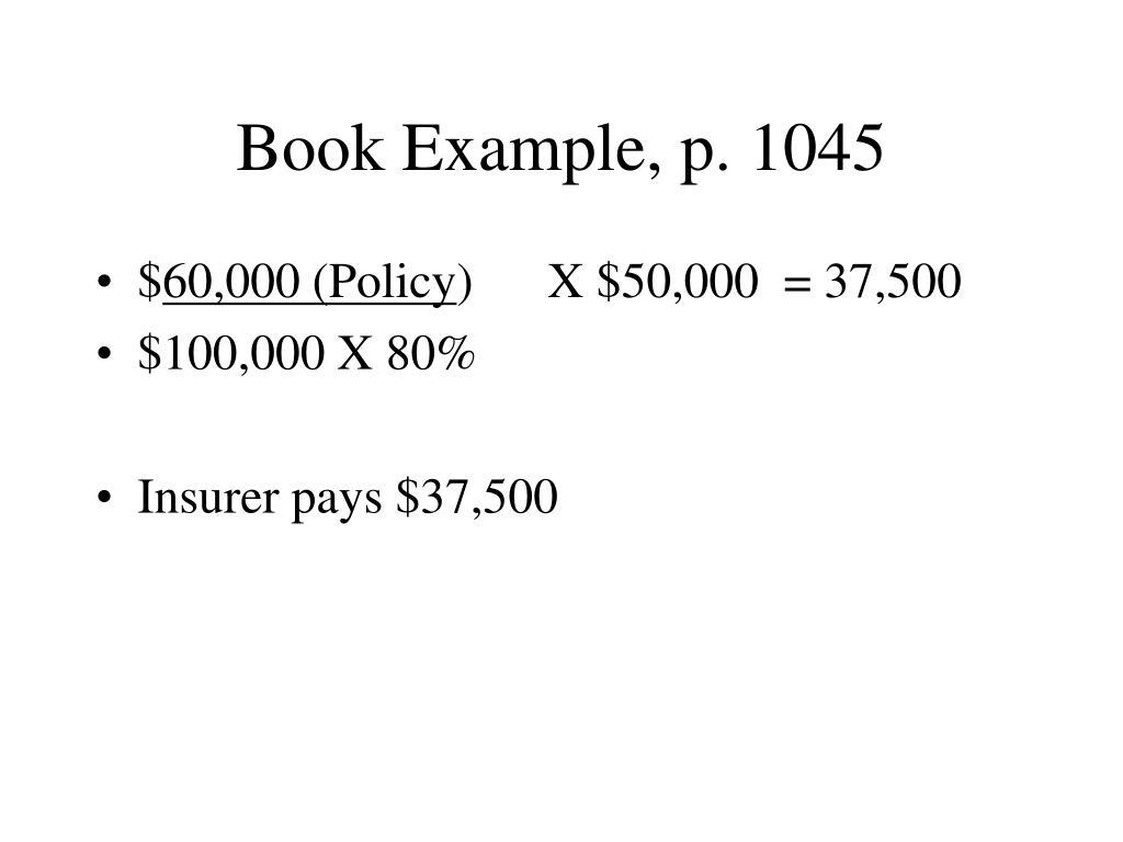 Book Example, p. 1045