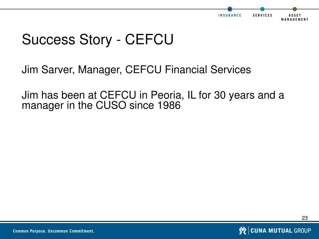 Success Story - CEFCU