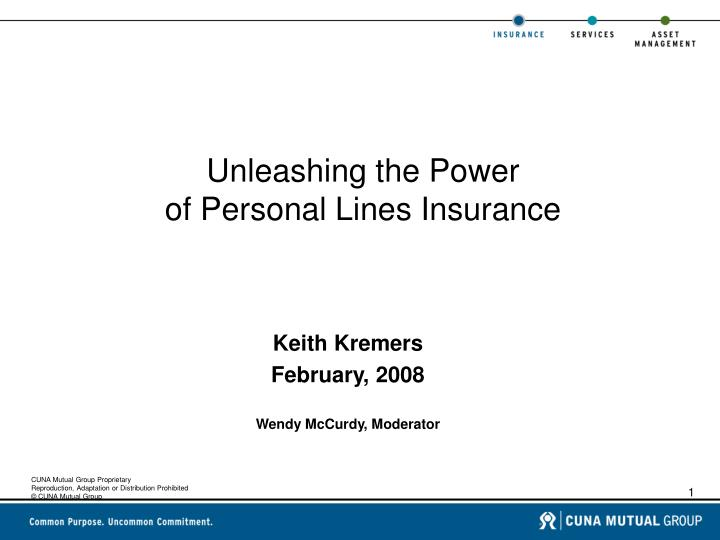 Unleashing the power of personal lines insurance