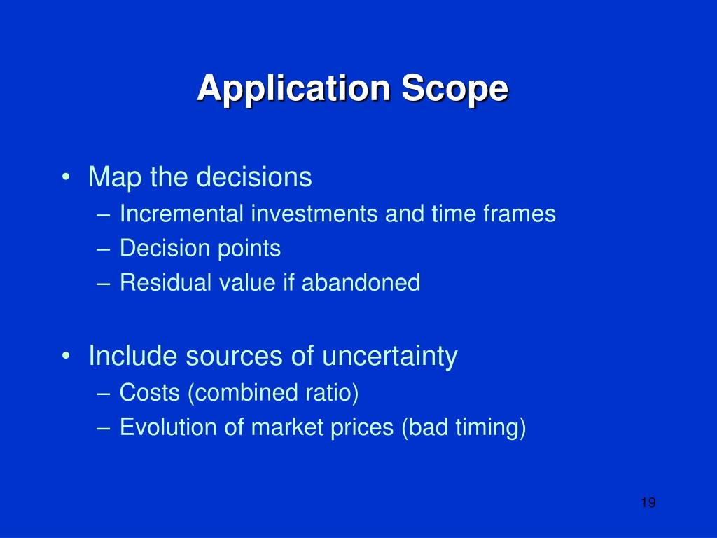 Application Scope