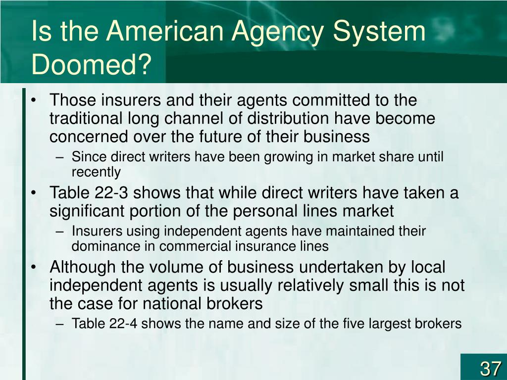 Is the American Agency System Doomed?