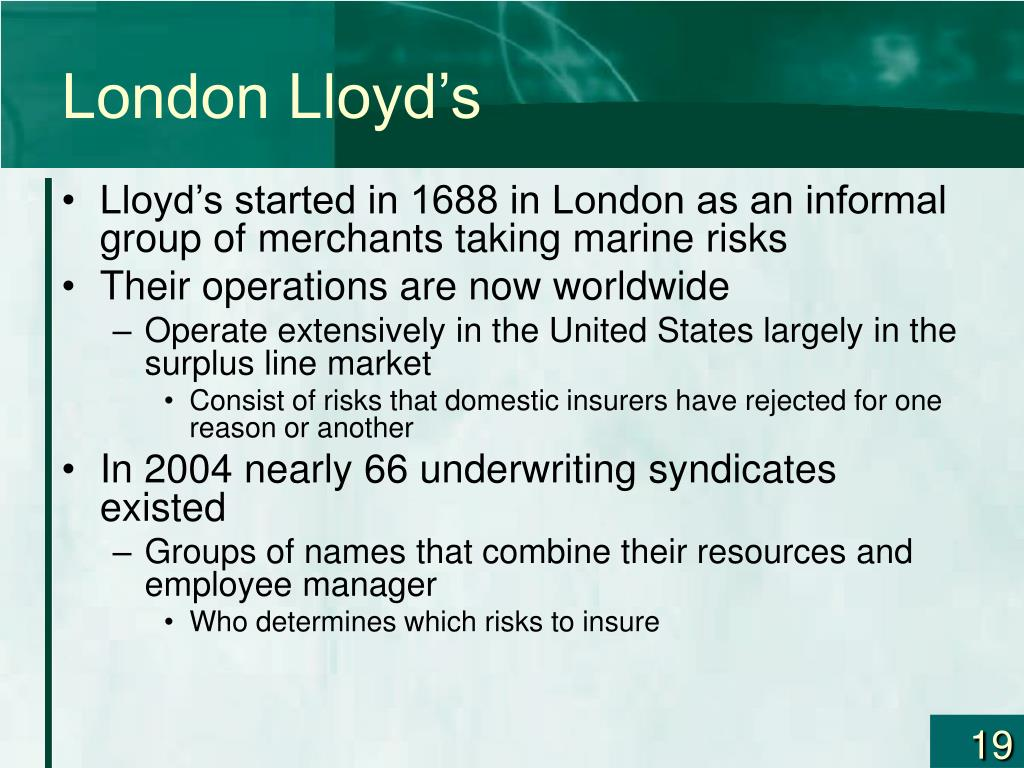London Lloyd's