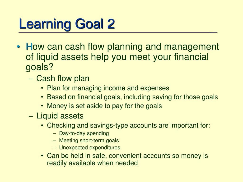 Learning Goal 2