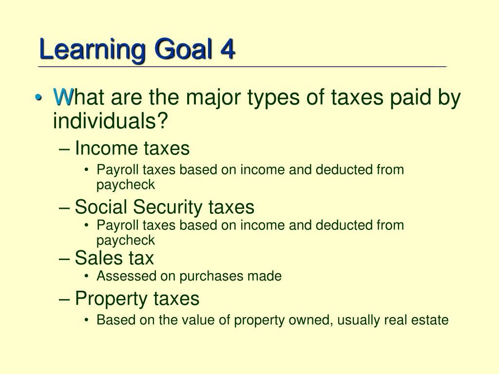 Learning Goal 4
