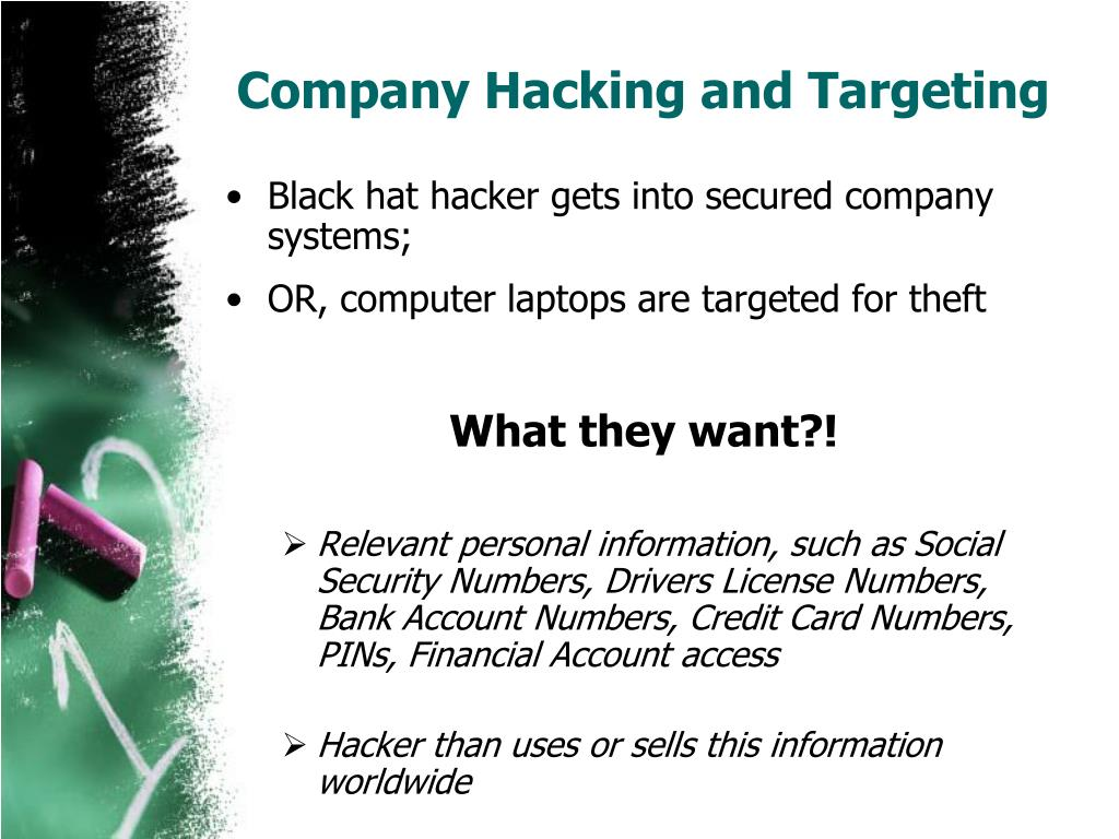 Company Hacking and Targeting