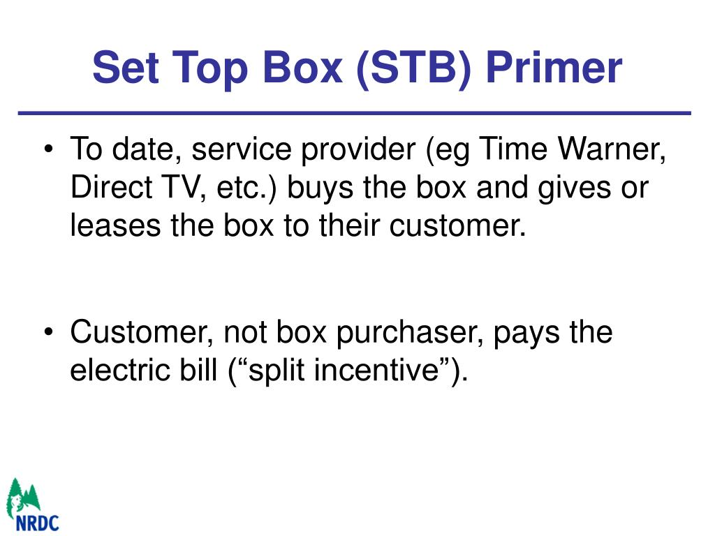 Set Top Box (STB) Primer