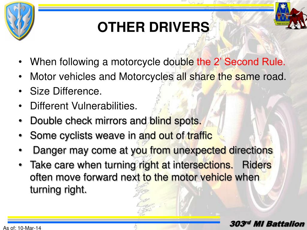 OTHER DRIVERS