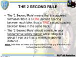 the 2 second rule